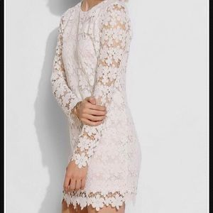 NWT Nasty Gal White Lace Mini Dress